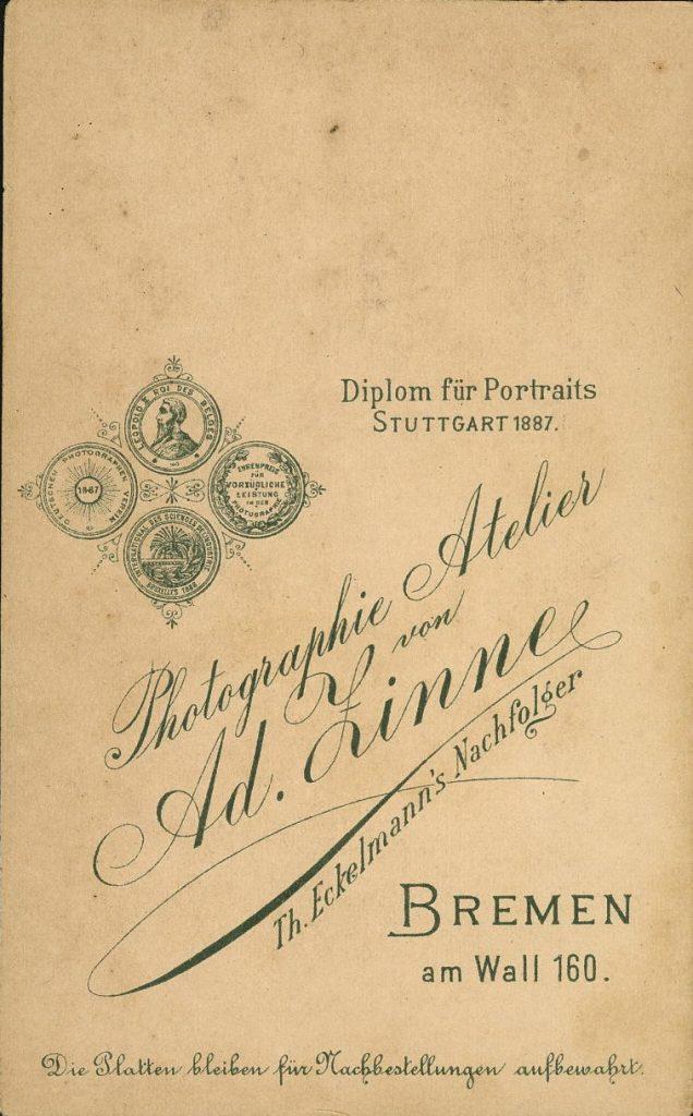 Ad. Zinne - Th. Eckelmann - Bremen