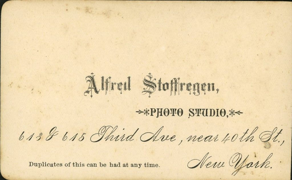 Alfred Stoffregen - New York
