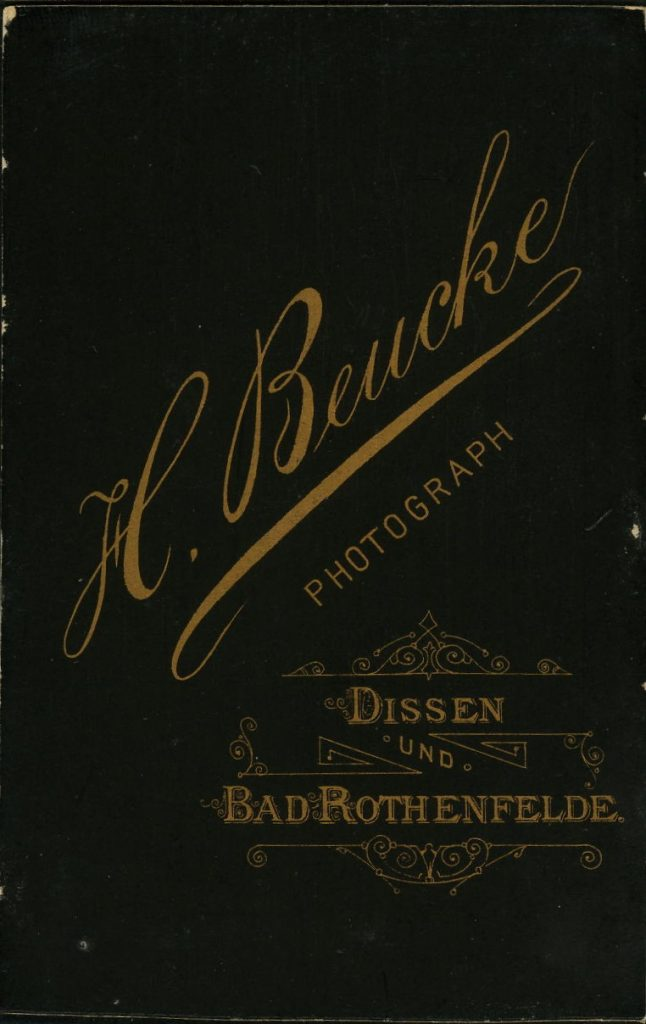 H. Beucke - Dissen - Bad Rothenfelde