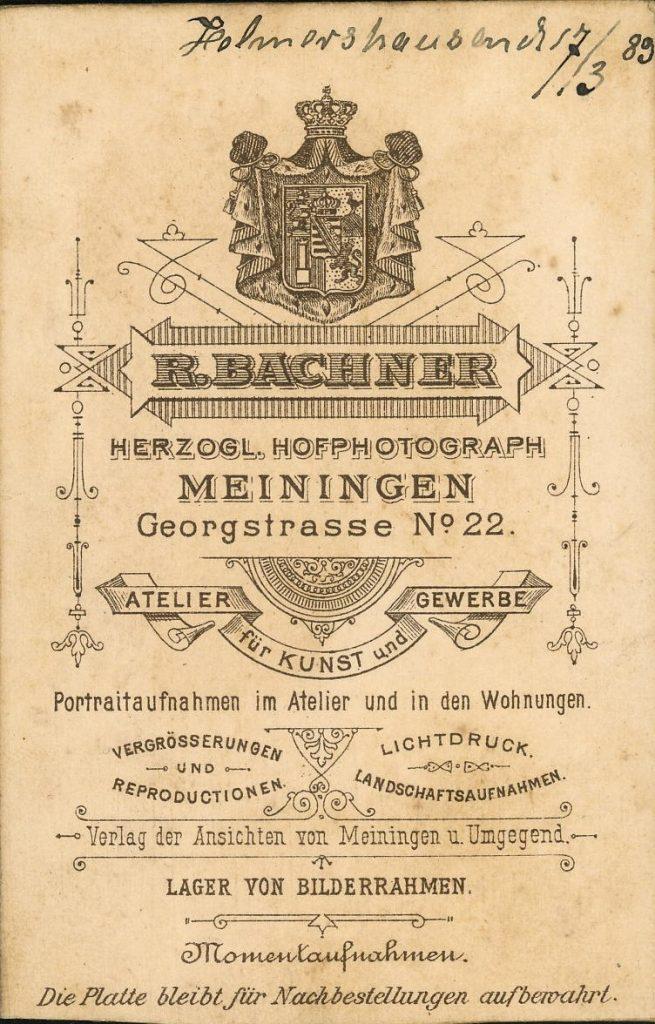 R. Bachner - Meiningen