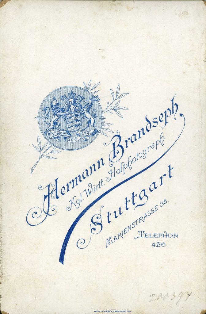 Hermann Brandseph - Stuttgart