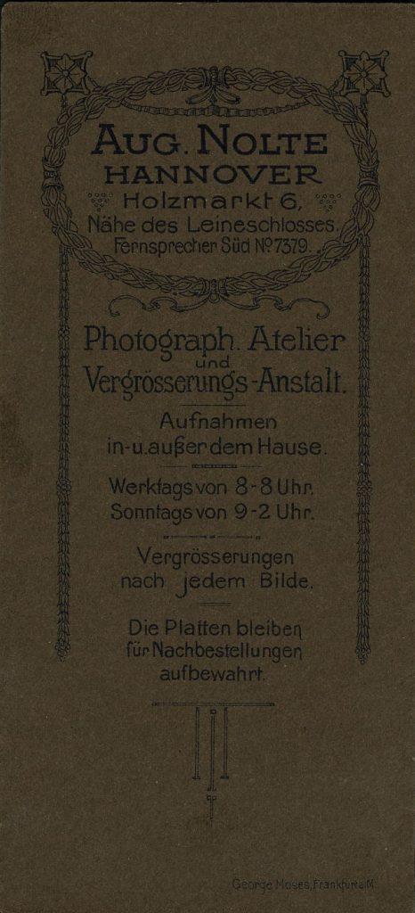 Aug Nolte - Hannover
