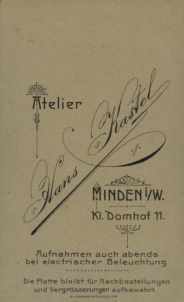 Hans Kastel - Minden i.W.