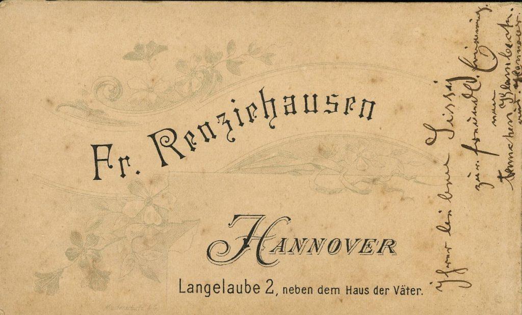 Fr. Renziehausen - Hannover