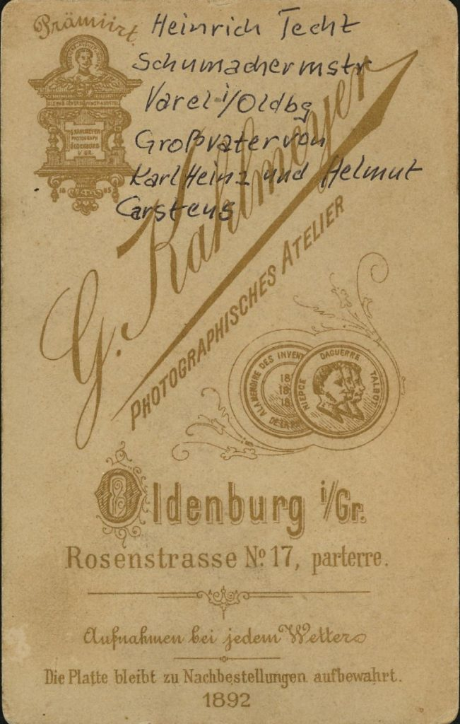 Georg Kahlmeyer - Oldenburg i.Gr.