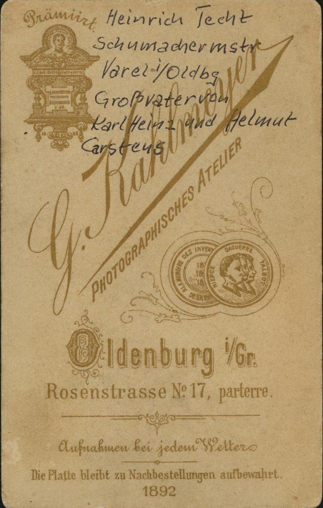 Georg Kahlmeyer - Oldenburg i.Gr.