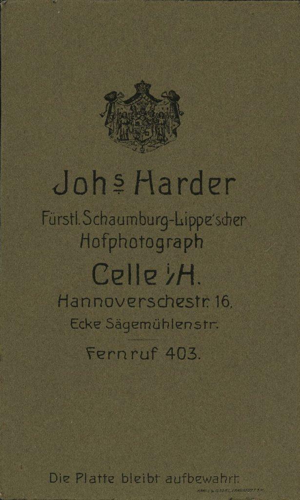 Johs. Harder - Celle