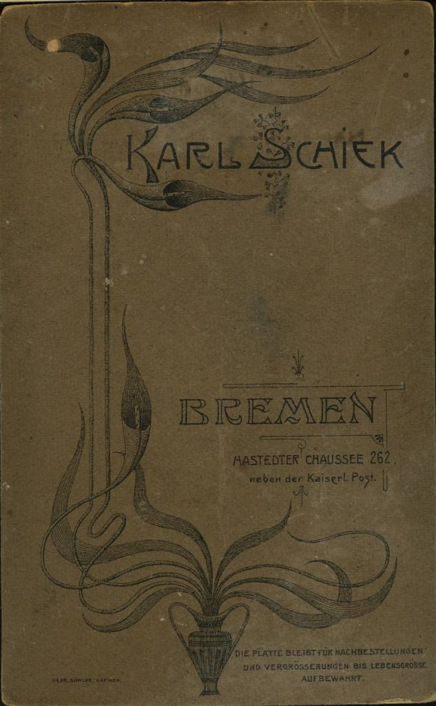 Karl Schiek - Bremen