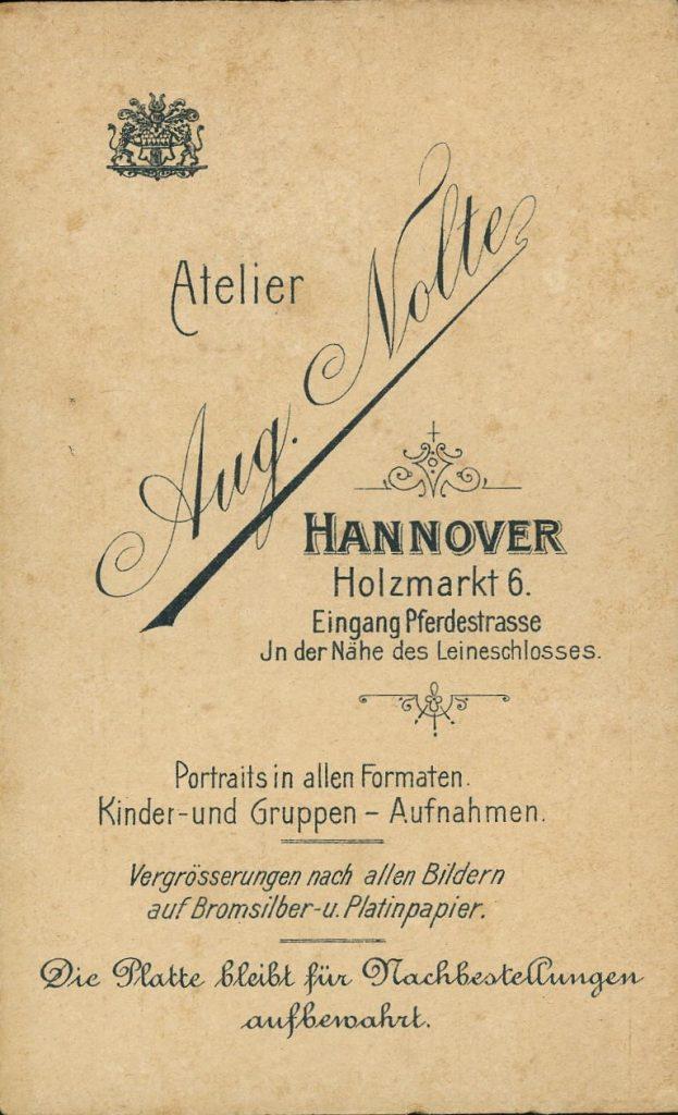Aug. Nolte - Hannover