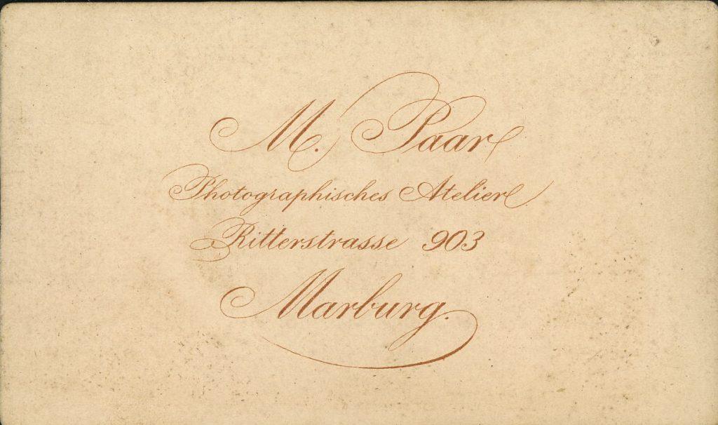 M. Paar - Marburg