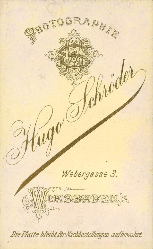 Hugo Schröder - Wiesbaden