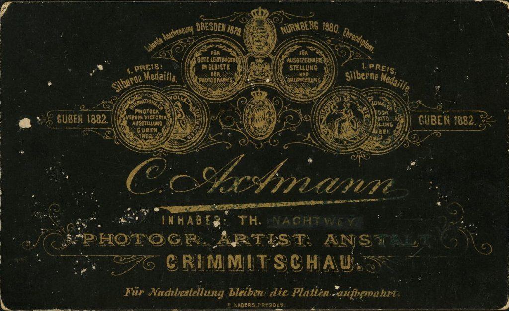 C. Axtmann - Th. Nachtwey - Crimmitschau