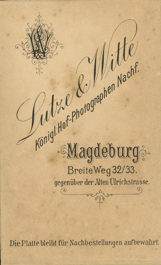 Lutze - Witte - Magdeburg