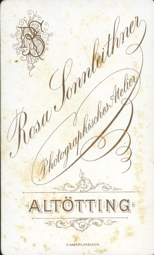 Rosa Sonnleithner - Altötting - Rosa Braur