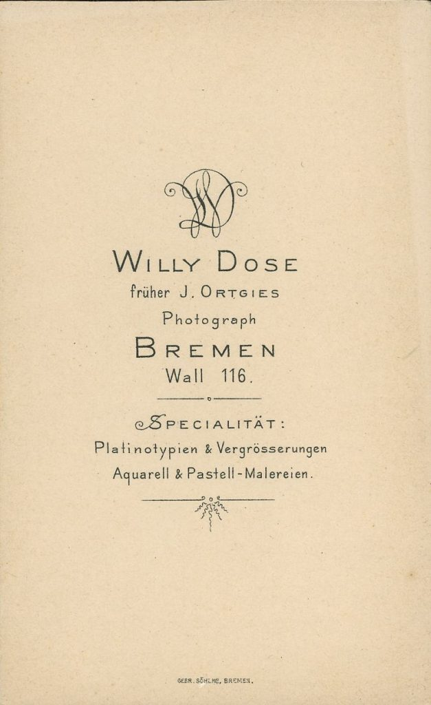 Willy Dose - J. Ortgies - Bremen