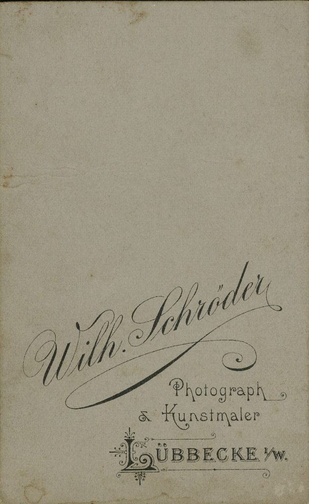 Wilh. Schröder - Lübbecke i.W.