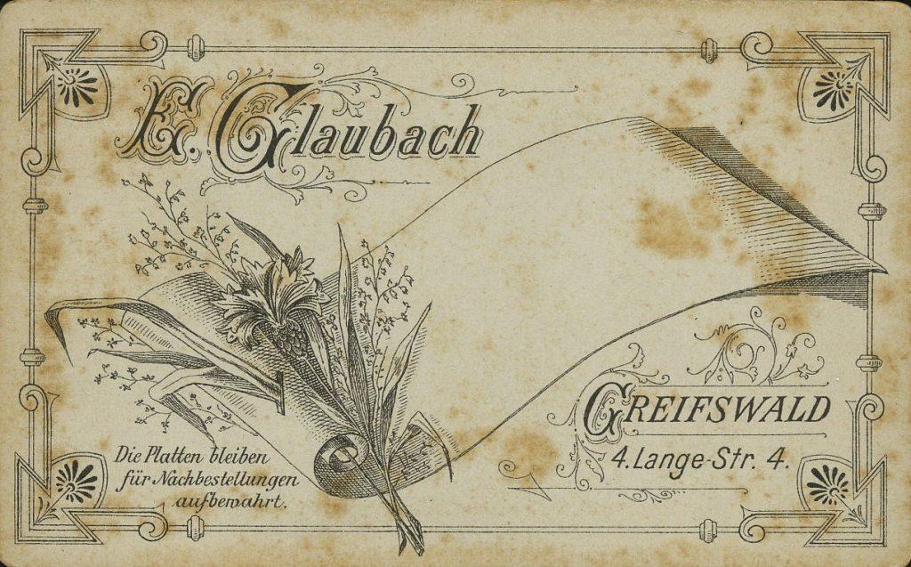 E. Glaubach - Griefswald