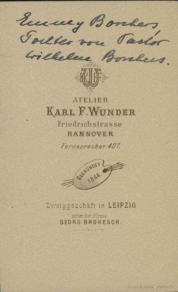 Karl F. Wunder - Hannover - Leipzig - Georg Brokesch