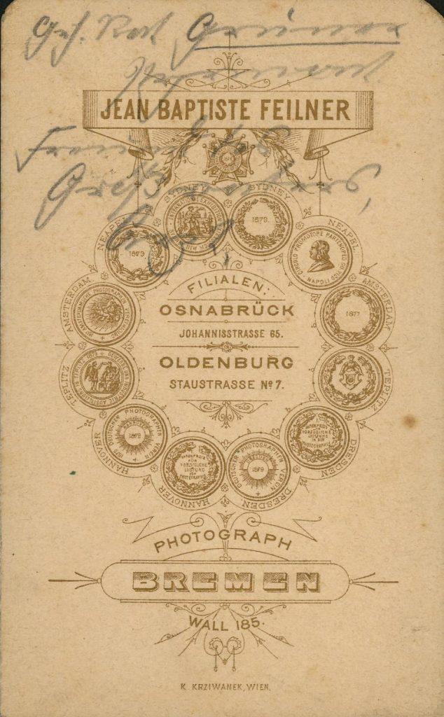 Jean Baptiste Feilner - Oldenburg - Osnabrück - Bremen