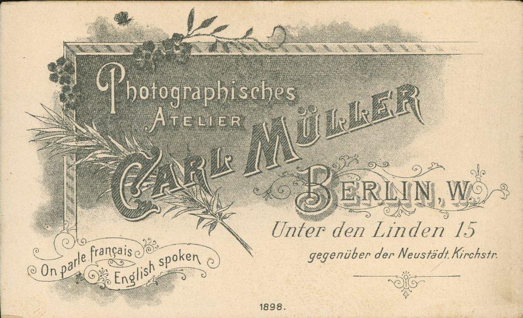 Carl Müller - Berlin