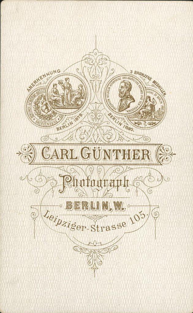 Carl Günther - Berlin