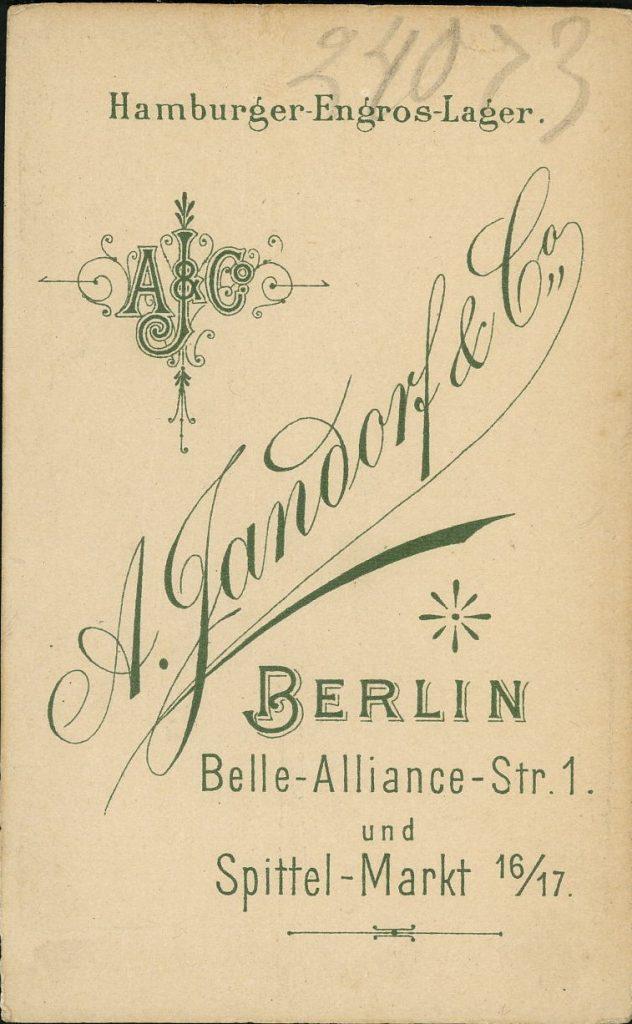 A. Jandorf - Berlin