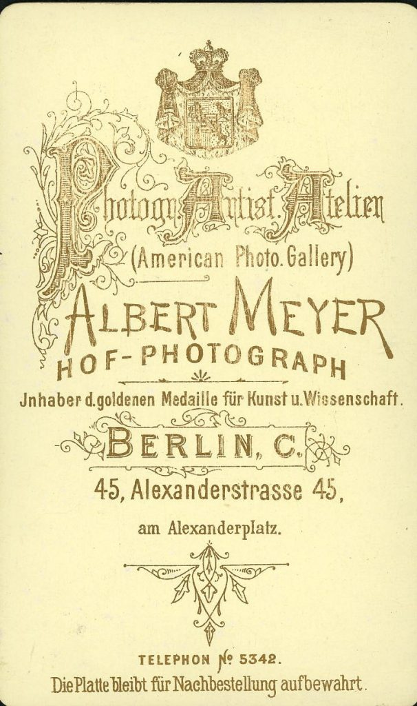 Albert Meyer - Berlin