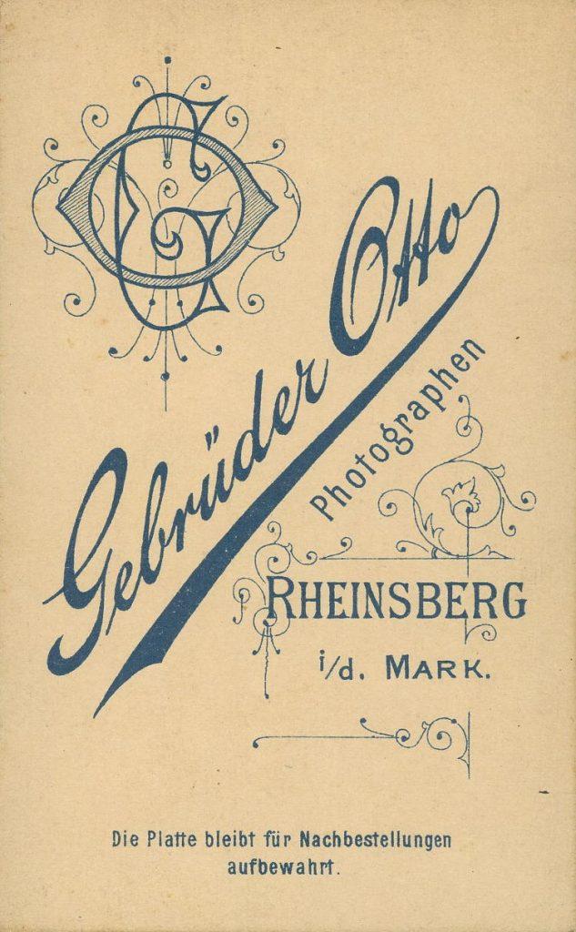 Gebrüder Otto - Rheinsberg i.d.Mark