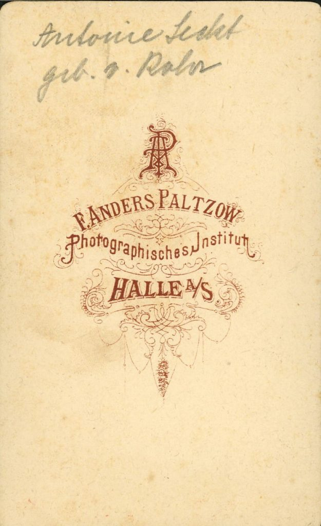 F. Anders Paltzow - Halle a.S.