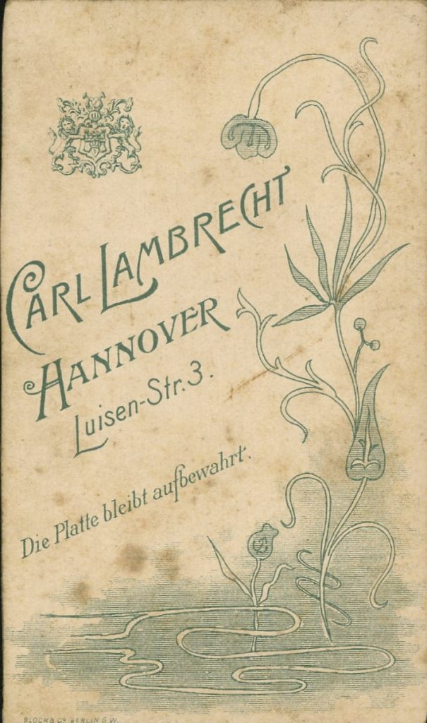 Carl Lamprecht - Hannover