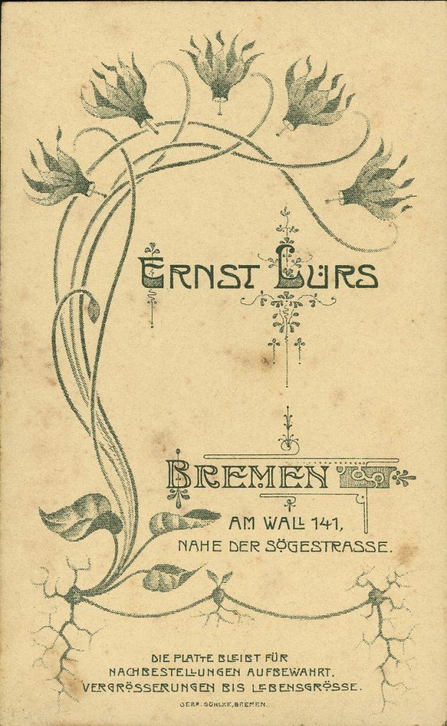 Ernst Lürs - Bremen