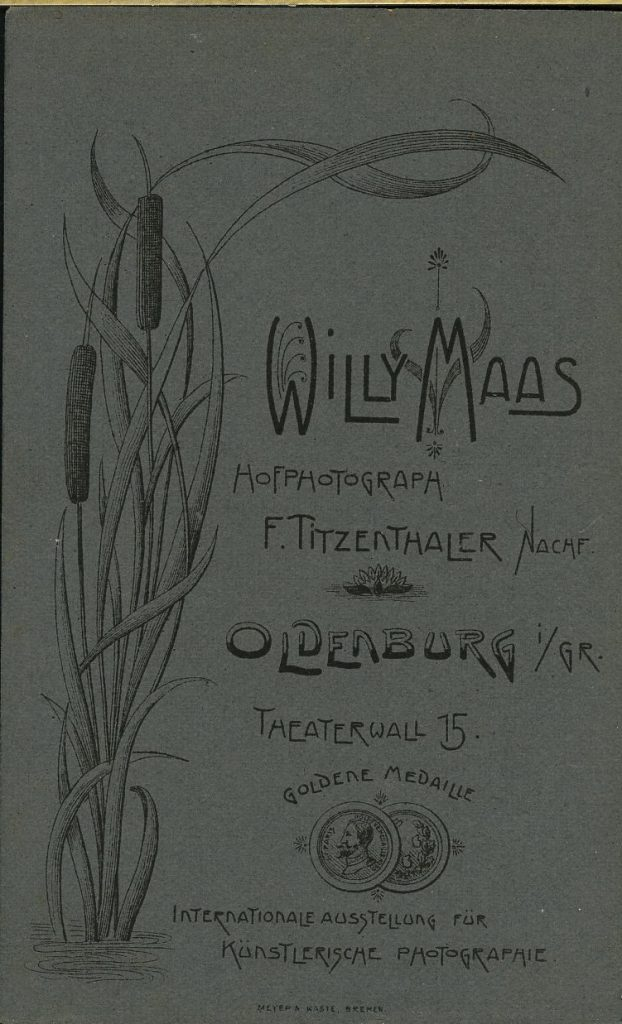 Willy Maas - F. Titzenthaler - Oldenburg