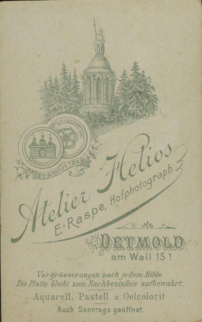 Helios - E. Raspe - Detmold