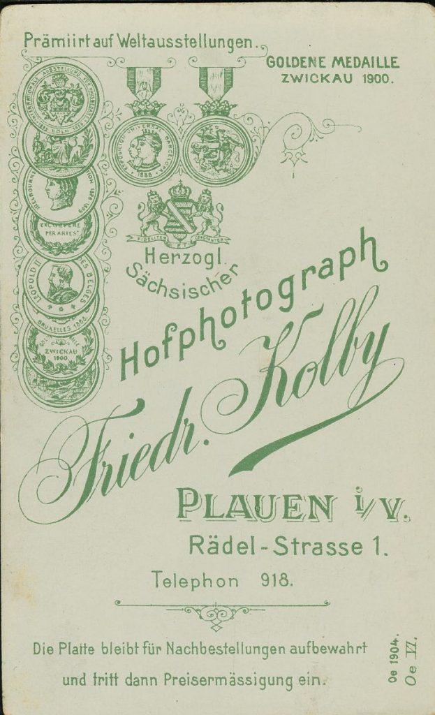 Friedr. Kolby - Plauen