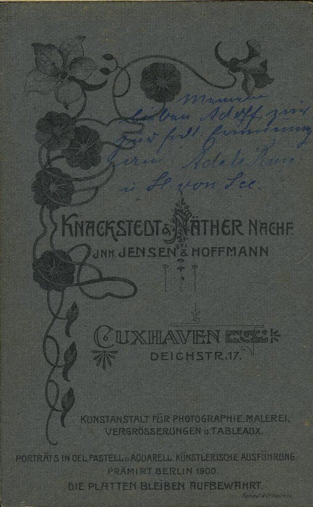 Knackstedt - Nather - Jensen - Hoffmann - Cuxhaven