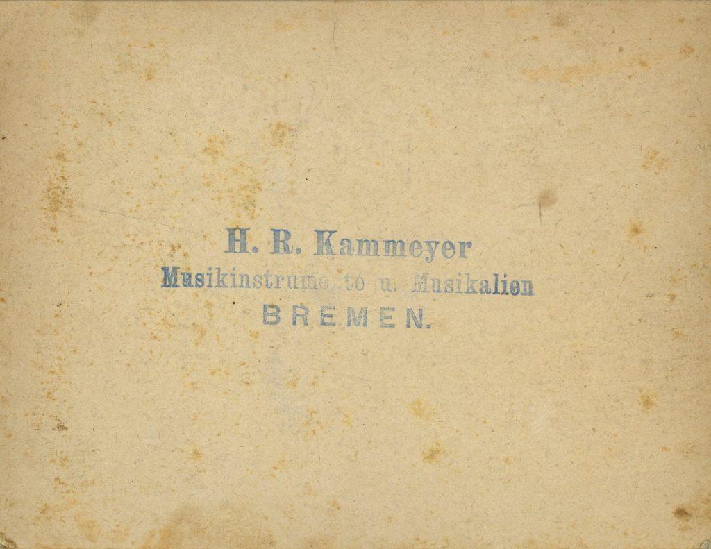 H. R. Kammeyer - Bremen