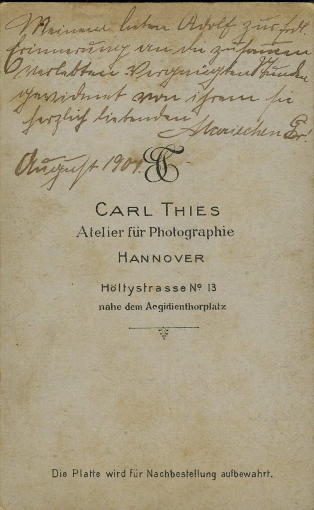 Carl Thies - Hannover