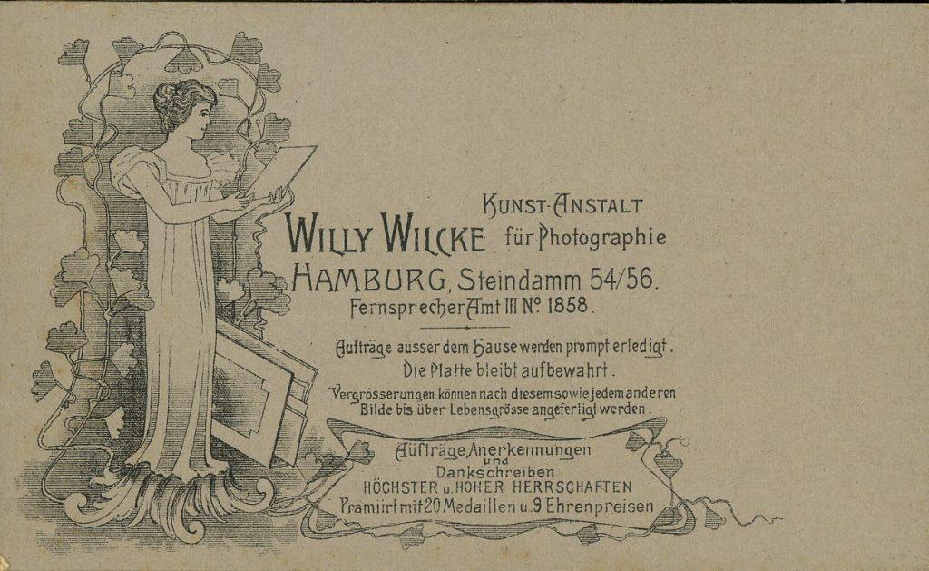 Willy Wilcke - Hamburg