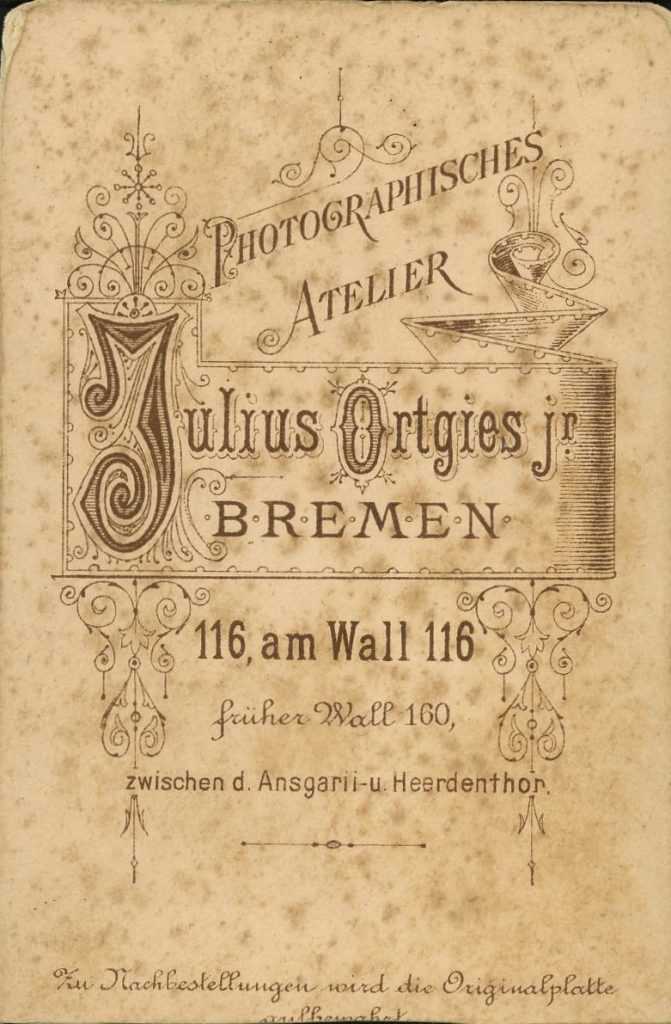 Julius Ortgies jnr - Bremen