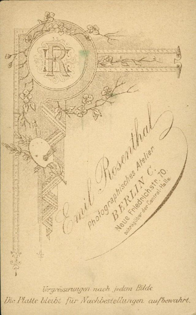 Emil Rosenthal - Berlin