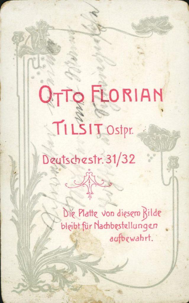 Otto Florian - Tilsit