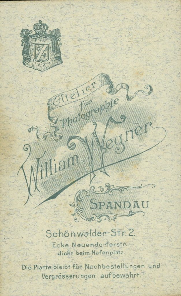 William Wegner - Spandau