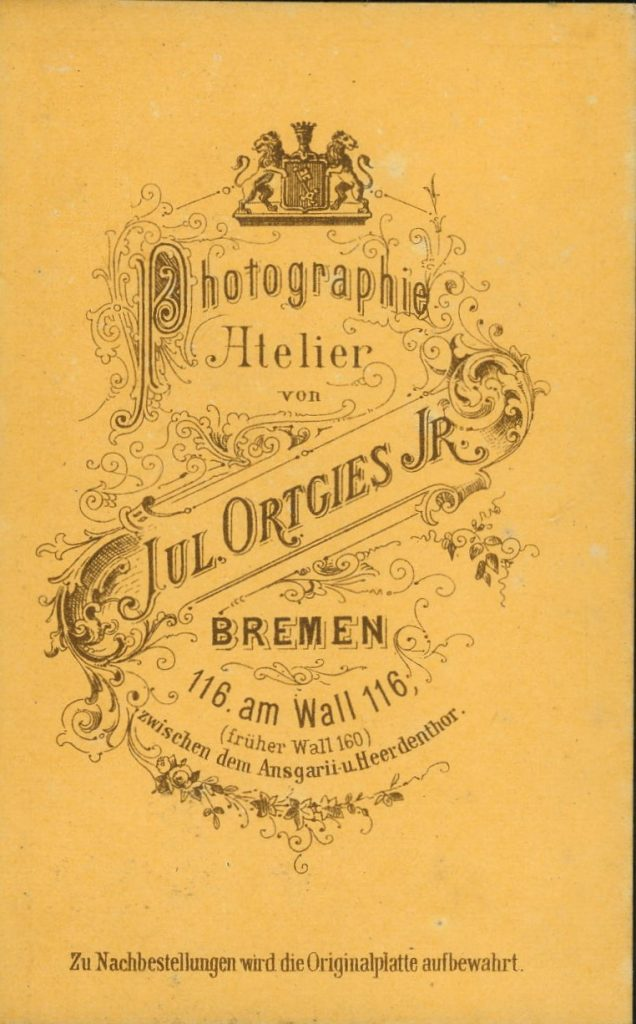 Jul. Ortgies jnr - Bremen