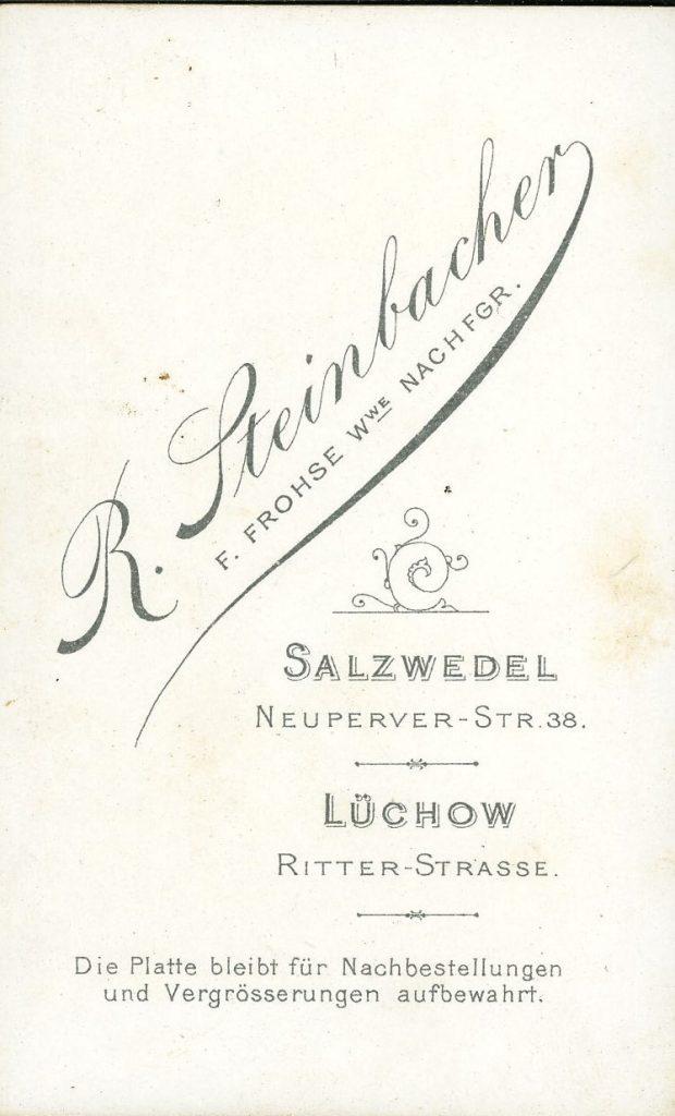 R. Steinbacher - Salzwedel - Lüchow