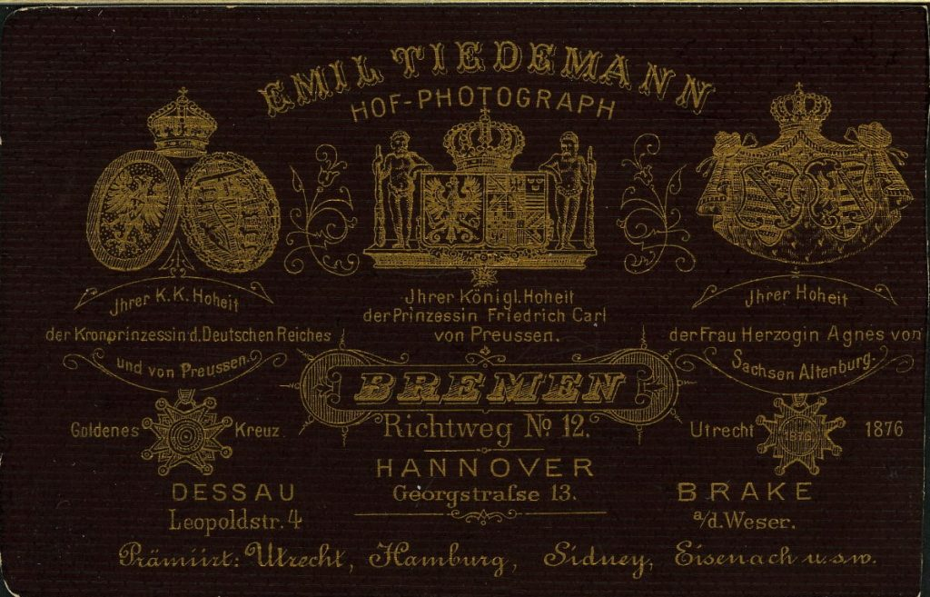 Emil Tiedemann - Bremen - Hannover - Brake a.d.W - Dessau