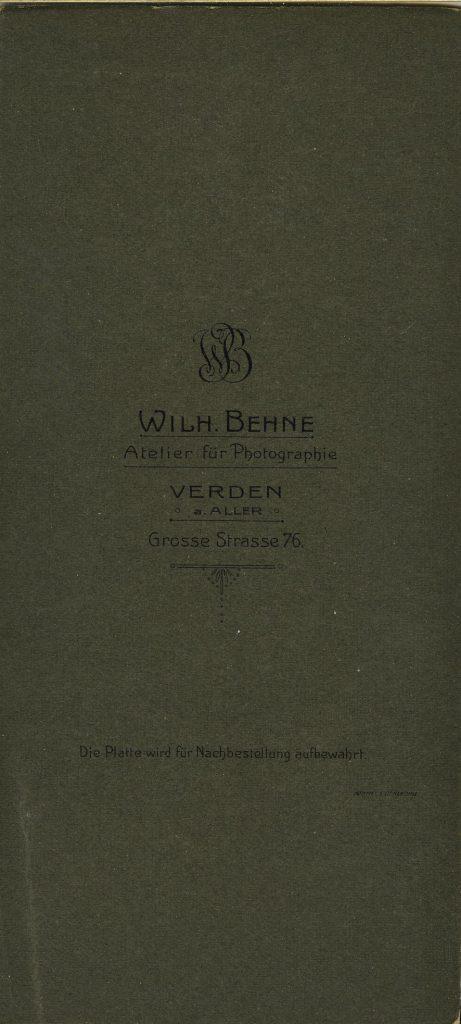 Wilh. Behne - Verden