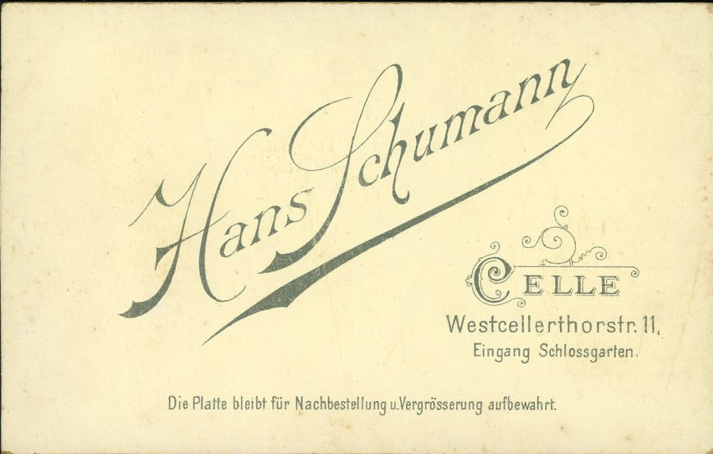 Hans Schumann - Celle