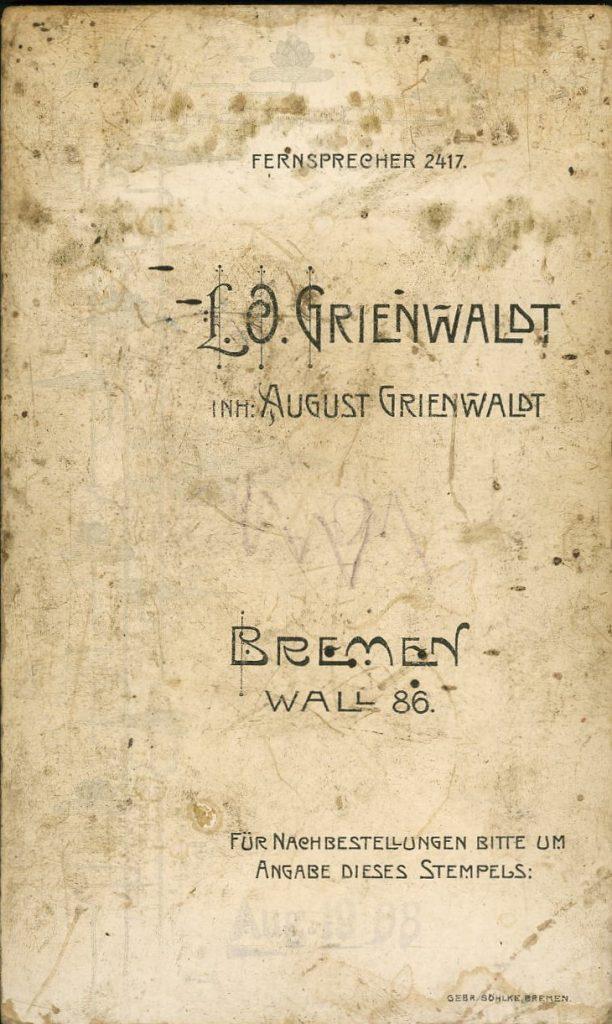 L. O. Grienwaldt - August Grienwaldt - Bremen