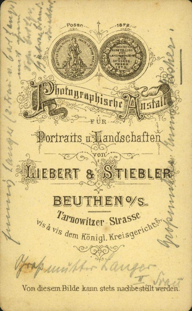 Liebert - Stiebler - Beuthen o.S.