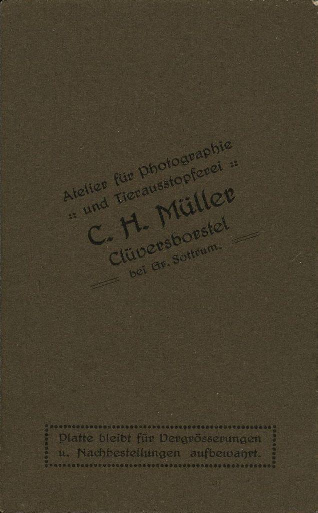 C. H. Müller - Clüversborstel